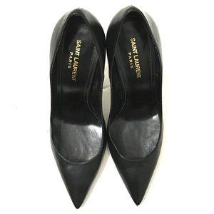 Saint Laurent Womans Black High Heels